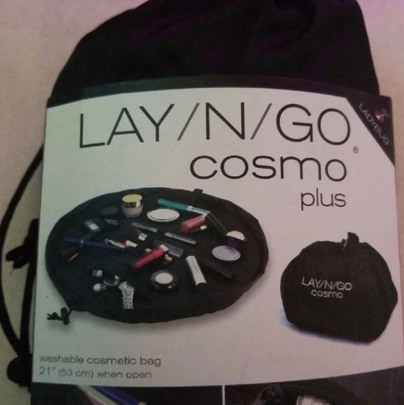 703d73ff52 NEW Ladybug LAY N GO cosmo plus make up bag